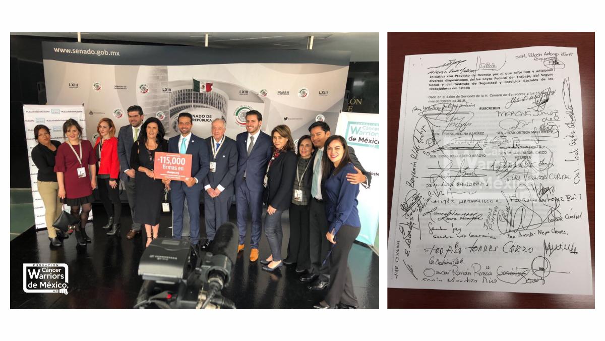 ¡Fue presentada nuestra Iniciativa #LaLuchaEsDeTodosMx en el Senado de México!