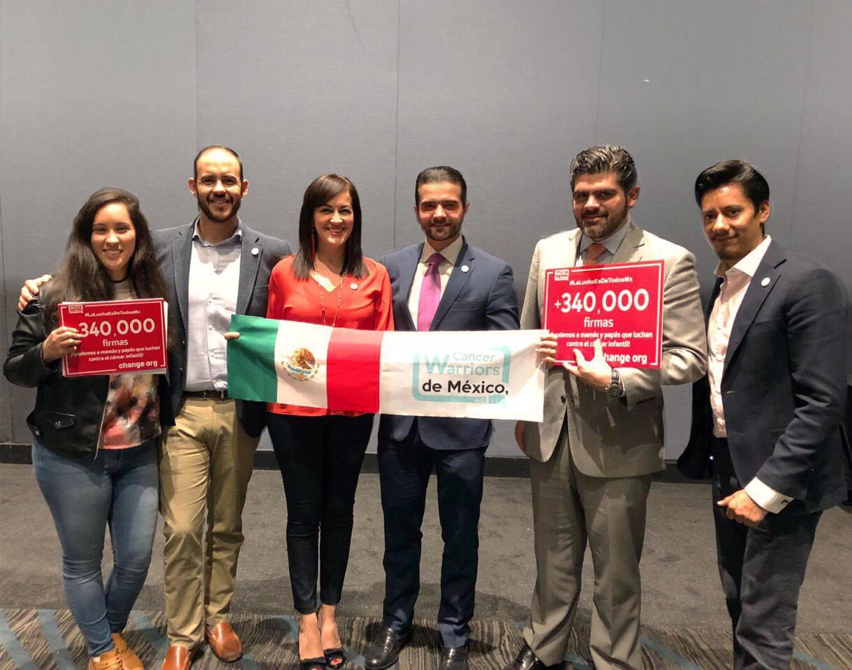 El equipo de Change.org Latinoamérica se reúne con Fundación CWMX