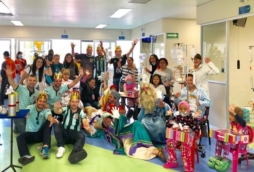 "Visita de Día de Reyes 2019 Hospital Infantil de México, ""Federico Gómez"""