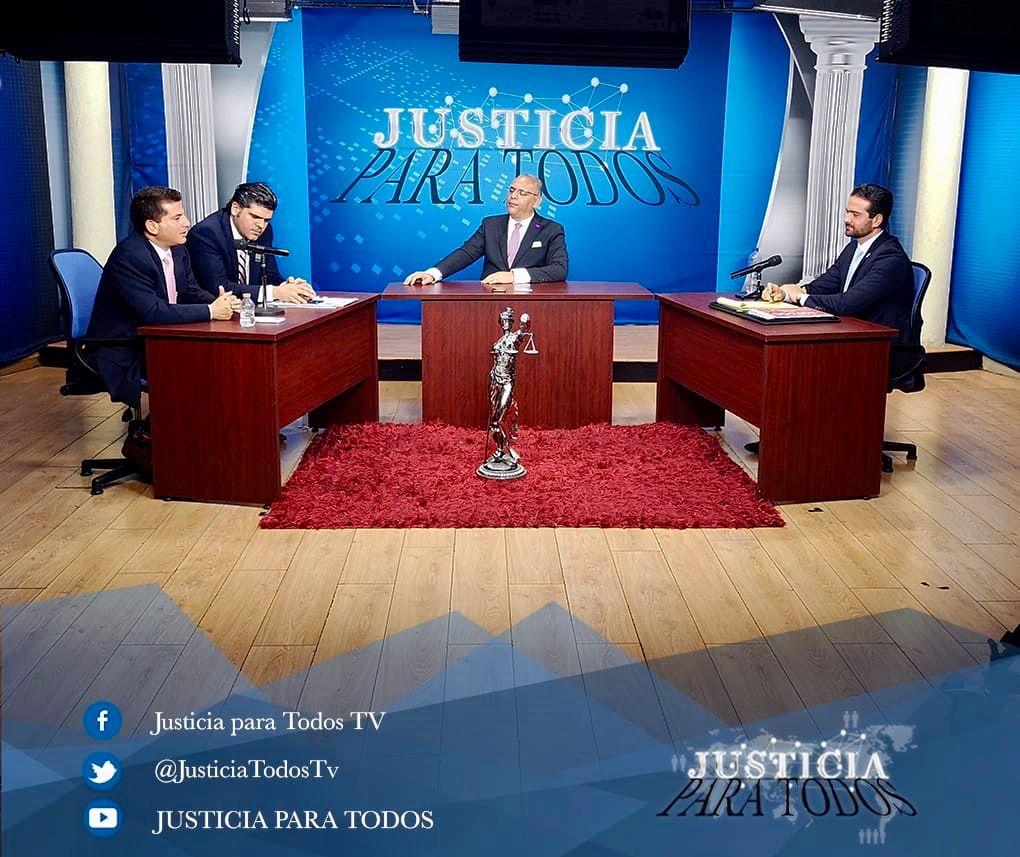 Participación de CWMX en el programa Justicia para Todos TV con Hector Becerra