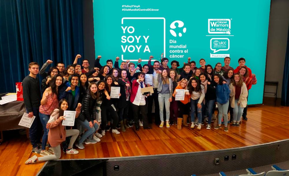 """Participamos de manera permanente en la Campaña """"Yo Soy Y Voy A"""" de la Unión Internacional contra el Cáncer (UICC)"""
